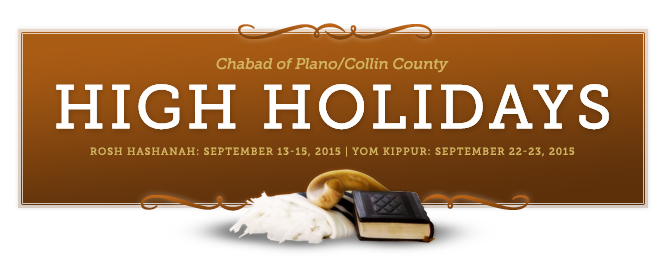 High Holidays with Chabad of Plano